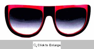 UFO Retro Sport Sunglasses - 128 Black/Pink