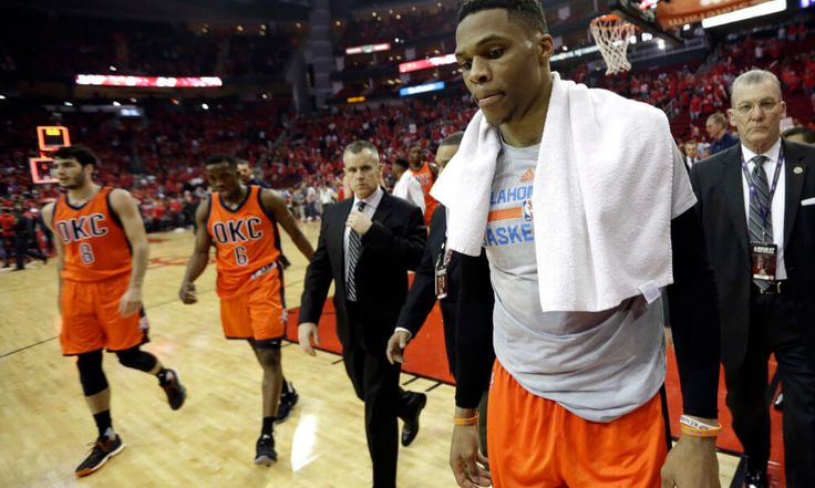 "Thunder's Russell Westbrook fined for language during postgame presser = A lot has been made about Russell Westbrook's stats all season long, but the Oklahoma City Thunder point guard made one thing very clear after Wednesday's loss – he doesn't care about his ""line."" While he did make that notion abundantly clear, it is going to cost Westbrook. The NBA has fined the veteran point guard….."