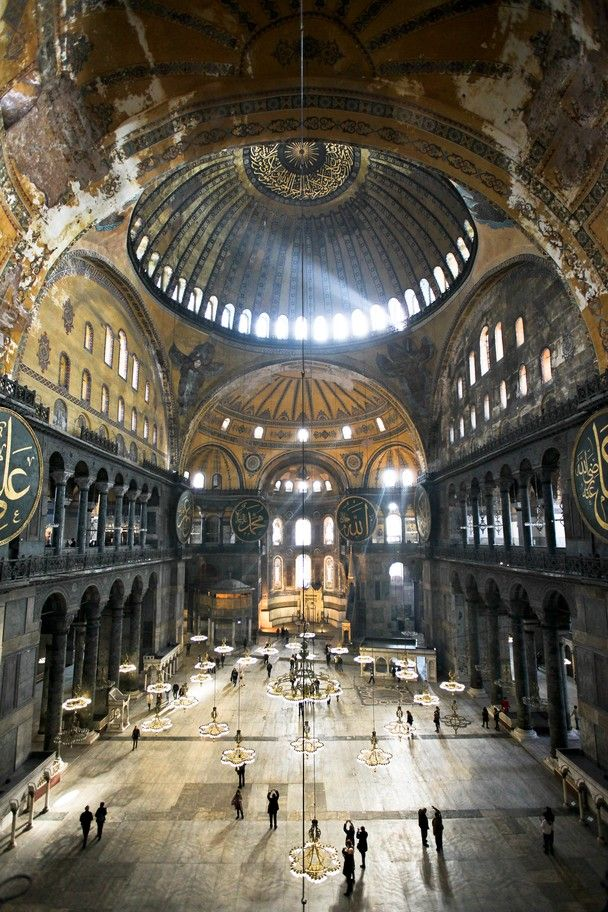 1st visit: 2008. Istanbul, Turkey. Hagia Sophia is gorgeous in person.