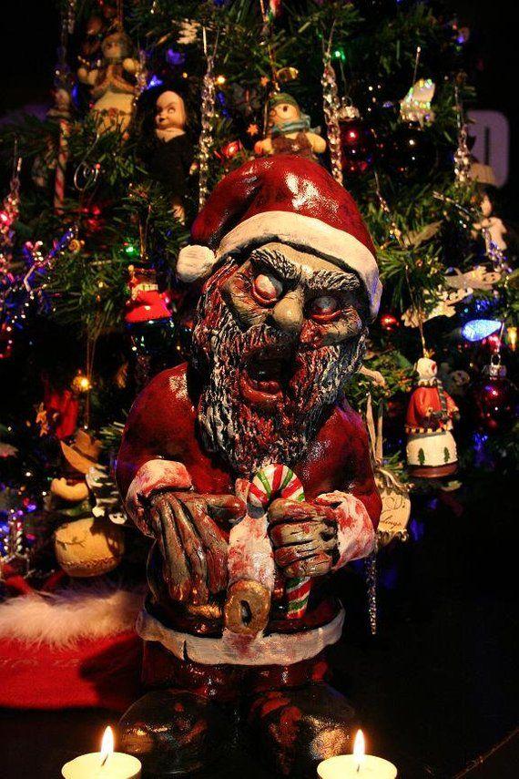 Zombie Santa Corpse - Zombie Christmas Ornament / Decoration   Body paint    Pinterest   Christmas, Zombie christmas and Santa - Zombie Santa Corpse - Zombie Christmas Ornament / Decoration Body