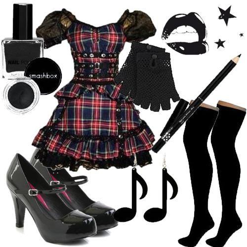 Lolita Gotica, gótica, gothic lolita, maquiagem gótica, gotica, roupas gotica…