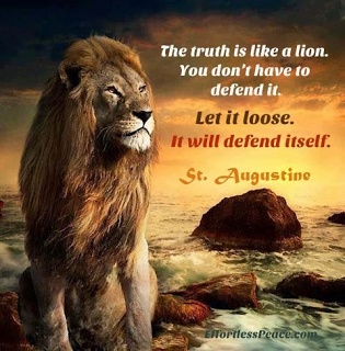 Inspiration: The truth is like a lion