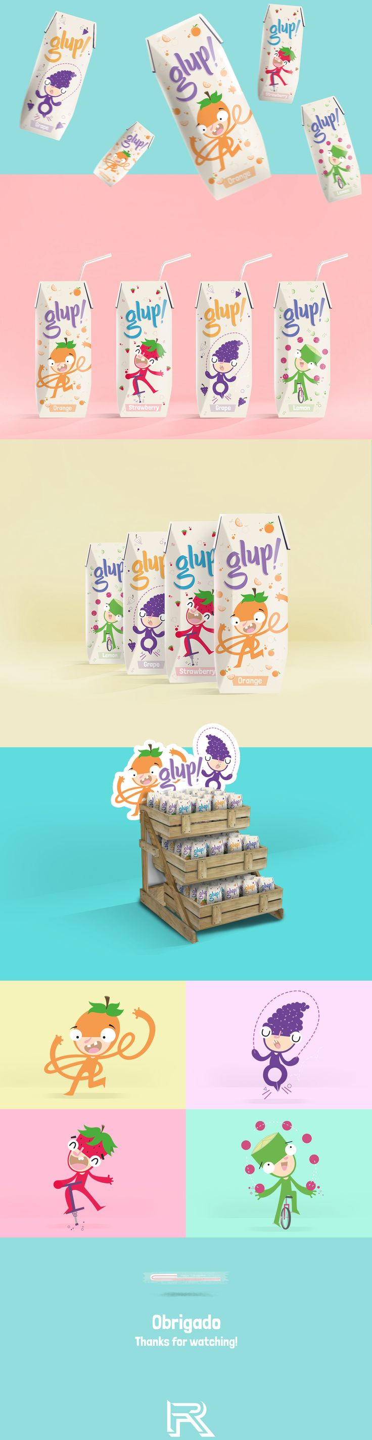 Package | Glup! on Behance