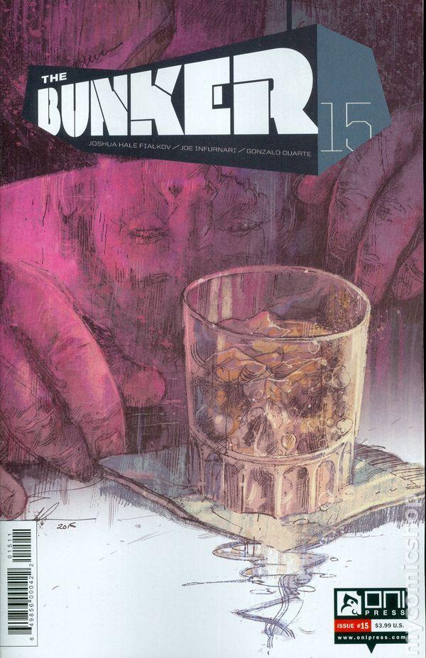 Bunker (2014 Oni Press) 15 Oni Press Modern Age Comic Book covers