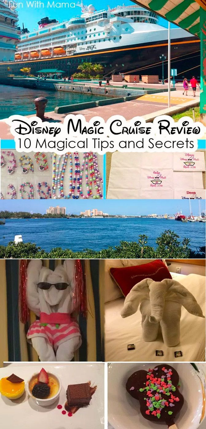 Disney Cruise tips, secrets, hacks and a review to get the most out of your next family vacation aboard a Disney Cruise. via @funwithmama