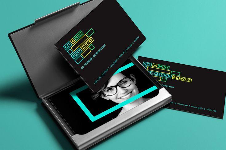 Corporate Design für get a MINT | Personaldienstleister für die innovativen Startups der Region | by Sehsam #portfolio #layout #corporatedesign #corporate #design #visitenkarte #geschäftsausstattung #logodesign #digitalartist #inspiration #business #office #ideen #sehsam