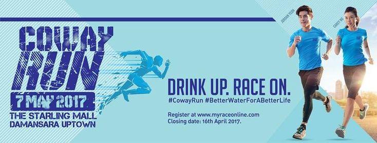 Cabar Diri Untuk Gaya Hidup Sihat Dengan Sertai Coway Run 2017