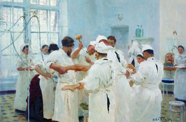 репин хирург павлов в операционном зале - Поиск в Google