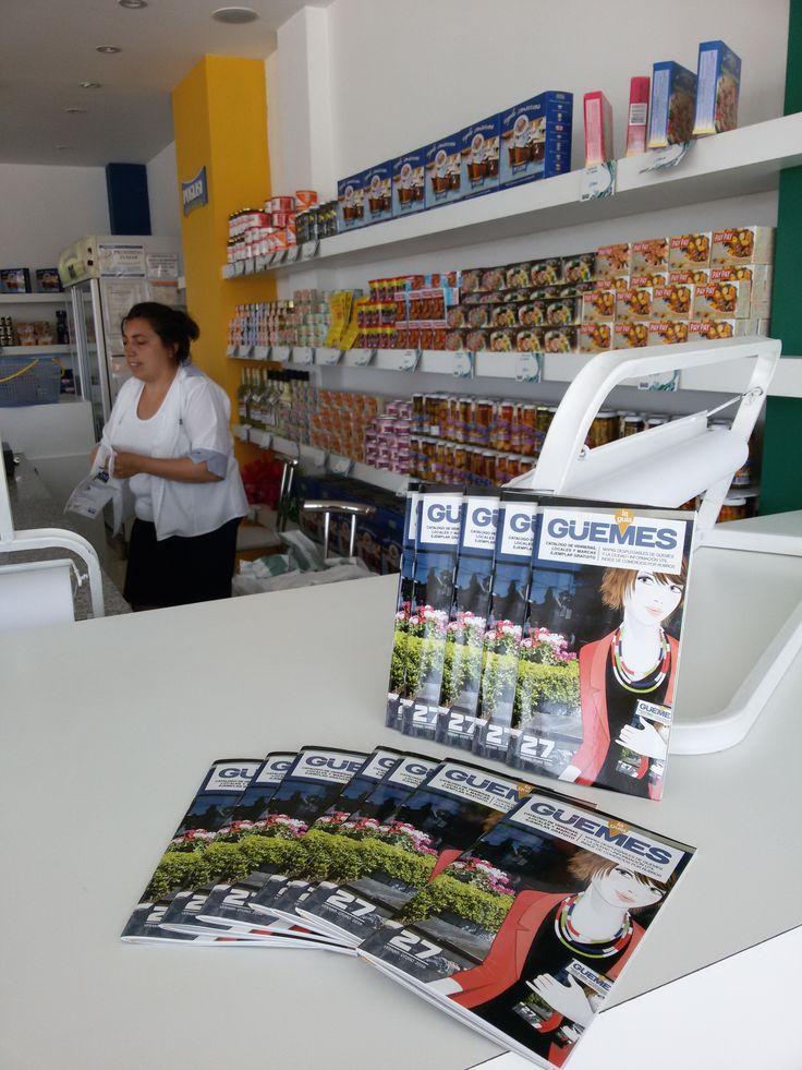 La Guia de Guemes en Puglisi, Centro Comercial del Puerto, Mar del Plata