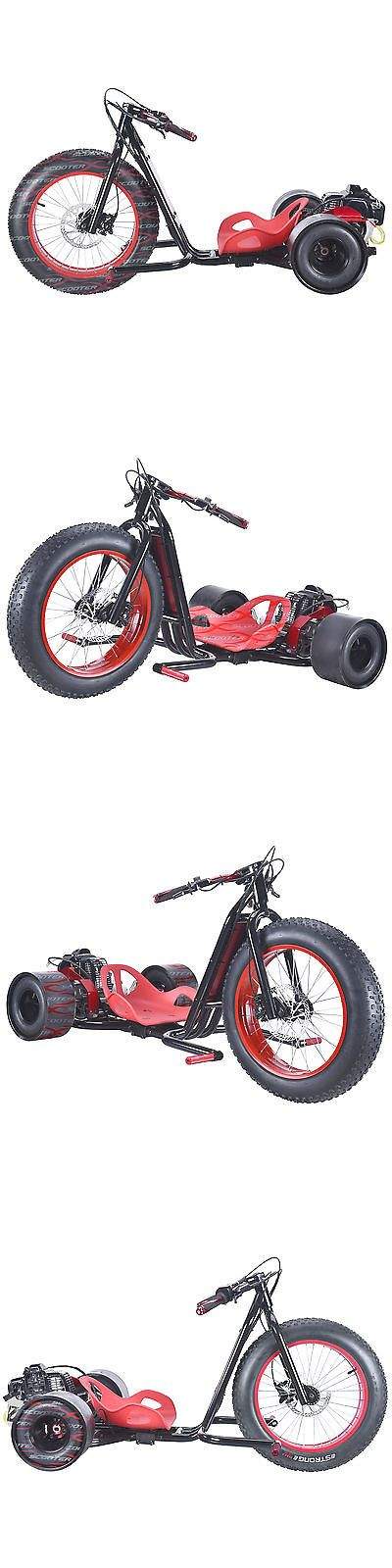 Other Scooters 11329: Red 3 Wheel Drifting Trike Gas Powered Outdoor Drift Sport 2 Stroke 49Cc 30Mph -> BUY IT NOW ONLY: $830.99 on eBay!