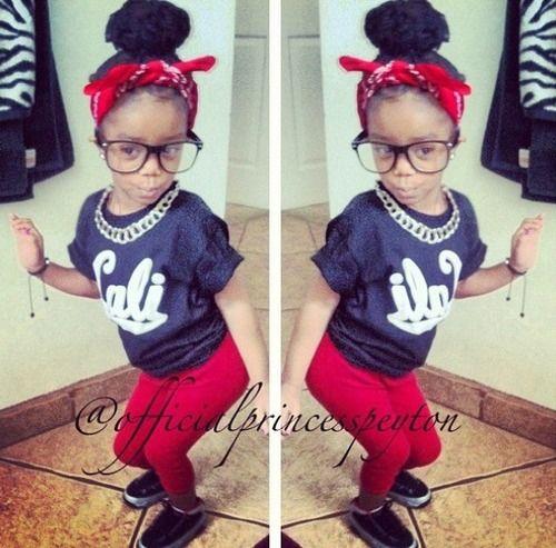 swag little kids tumblr | Little Girl Swag | via Tumblr | We Heart It