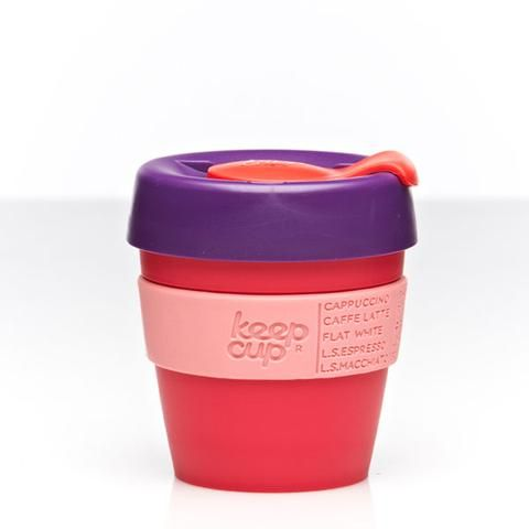 The kids dont miss out - or perfect for a short black! -KeepCup Reusable Coffee Cup - Guava