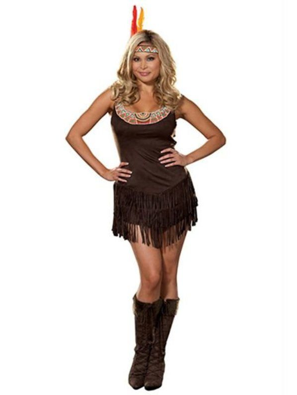 dreamgirl plus size pocahottie costume indian costumes