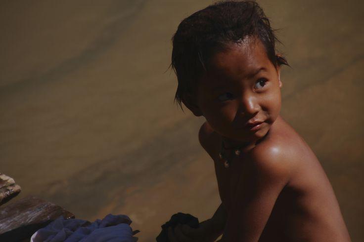Burmese child in Taunggyi