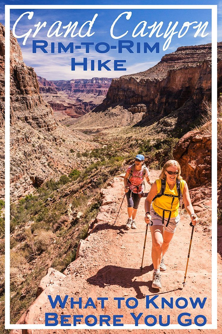 The rim-to-rim hike in Grand Canyon National Park is a classic bucket list adventure. Here's what you need to know before conquering this epic hike.