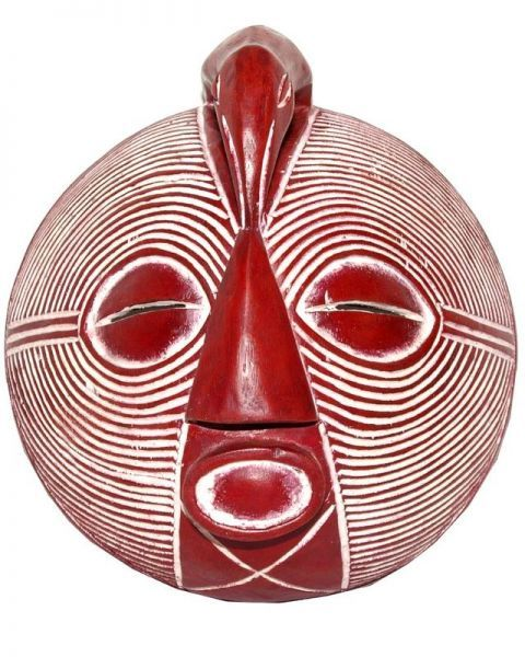 masque africain bazangwé