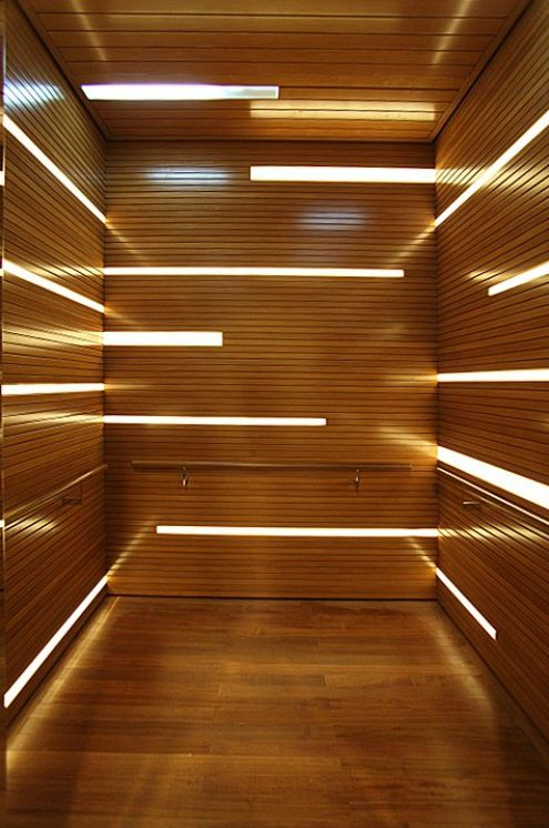 Led Light Cap Interior Modern Contemporary Strip Of
