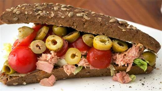 Recept - Broodje tonijn #NLFit