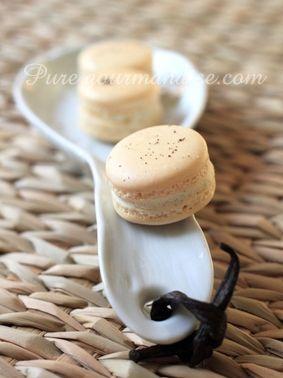 macarons vanille pure gourmandise puregourmandise recette