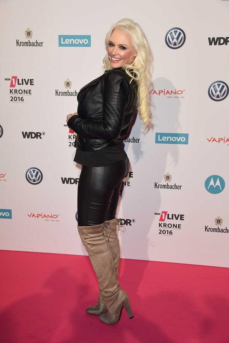 Daniela Katzenberger attends Live Krone Award Jahrhunderhalle