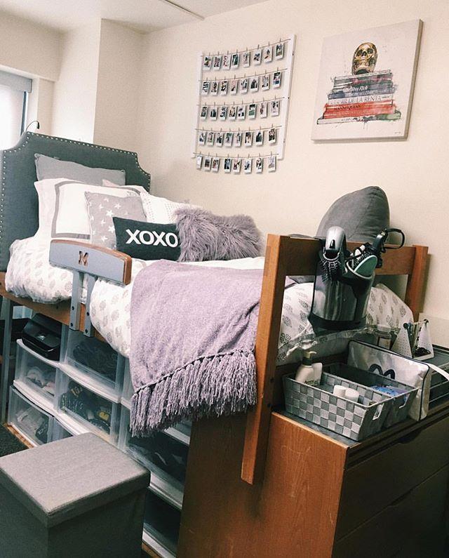 fancy deluxe college apartment bedroom trend decorating ideas   8486 best [Dorm Room] Trends images on Pinterest   Bedroom ...