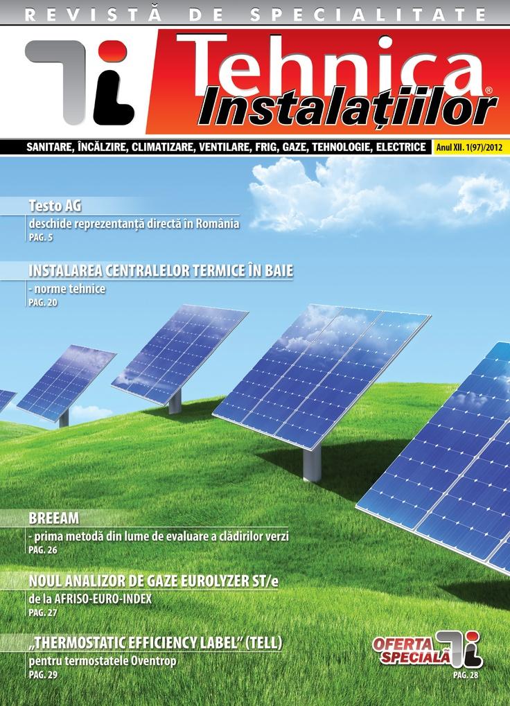 Revista Tehnica Instalatiilor nr. 01_97_2012