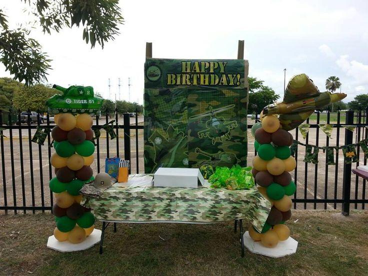 Military birthday party