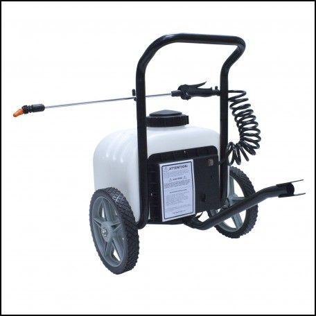 Battery Powered Weed Sprayer On Wheels