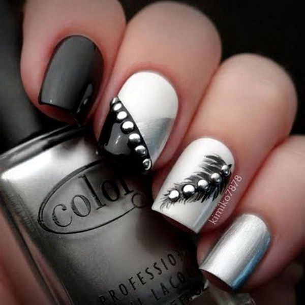 45 Beautiful Winter Nail Art Designs and Colors 2017 - Best 10+ Winter Nail Designs Ideas On Pinterest Winter Nails