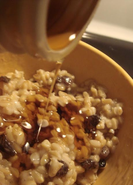 """Oat Groats Recipe.  Simple recipe for whole oats, or """"oat groats"""" as they are called.  Yummy way to eat your morning oats instead of oatmeal!"""