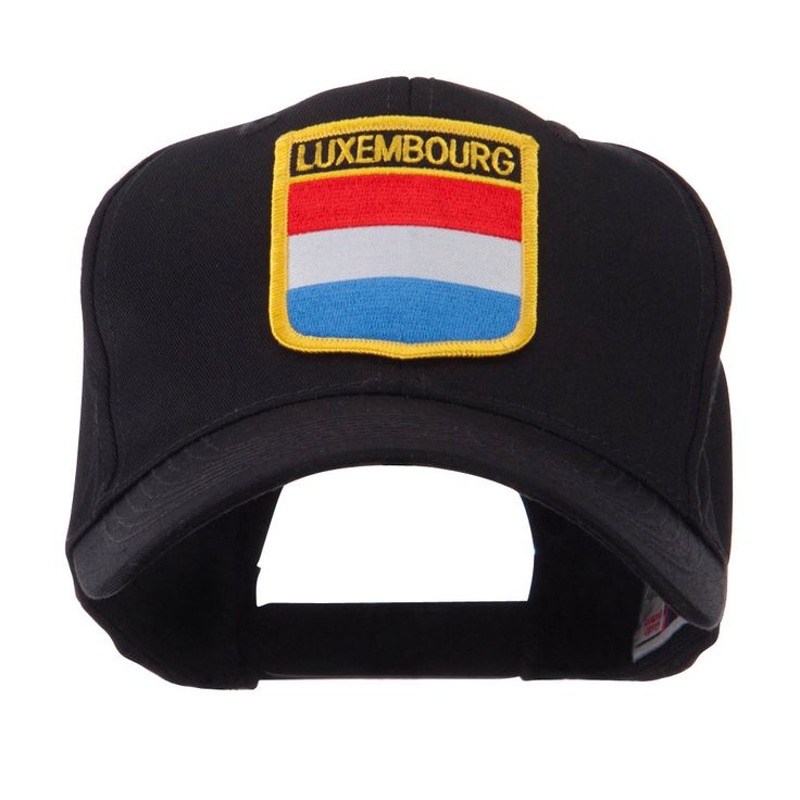 Europe Flag Shield Patch Cap - Luxembourg