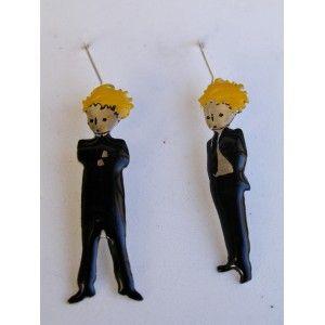 Little prince businessmen,  earrings