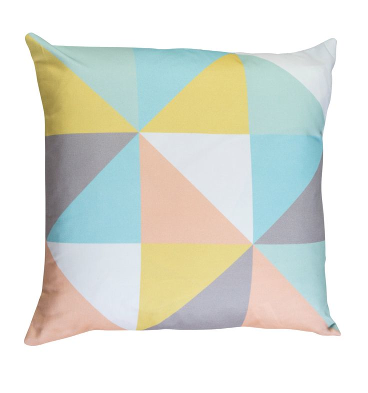 Geometric Cushion in Pastel Designed by by GraduateCollection, £40.00