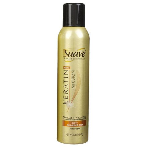 Editor-Tested: The 9 Best Dry Shampoos, Ranked - Suave Keratin Infusion Dry Shampoo - from InStyle.com