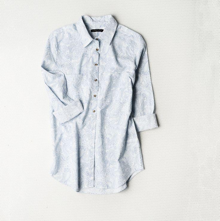 Light blue blouse by Seppälä