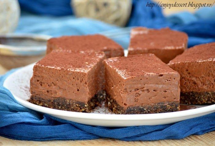 Habos csokoládészelet sütés nélkül