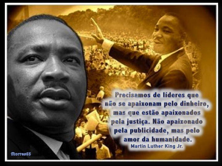 Precisamos De Lideres Martin Luther King Jr Martin