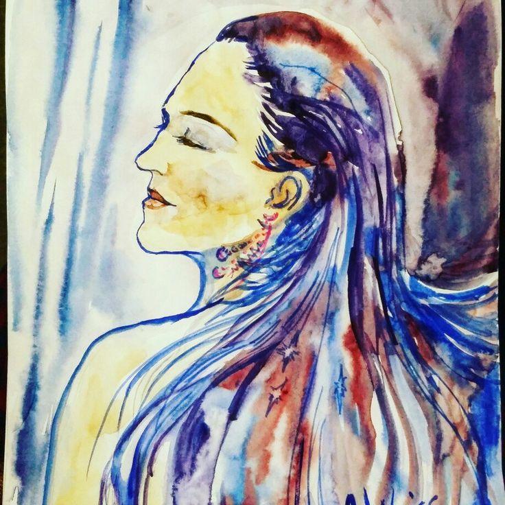 Commission portrait. Enjoy your own bright art!:)