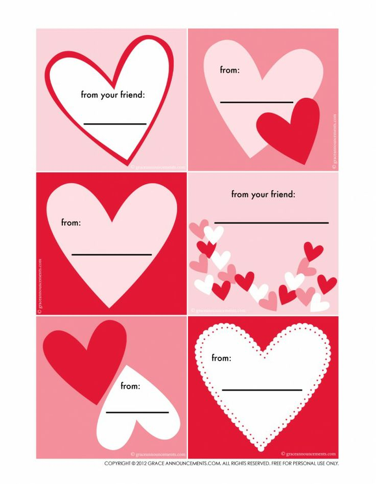 32 best images about Valentines day – Cute Valentines Cards for Kids