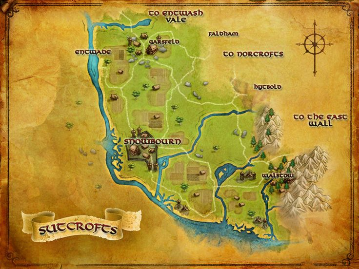 lotro map of the sutcrofts rings onlinehobbitmiddle earth