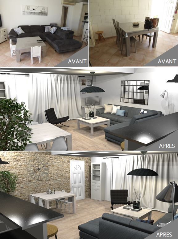 les 8 meilleures images du tableau coach d co avant apres sur pinterest. Black Bedroom Furniture Sets. Home Design Ideas