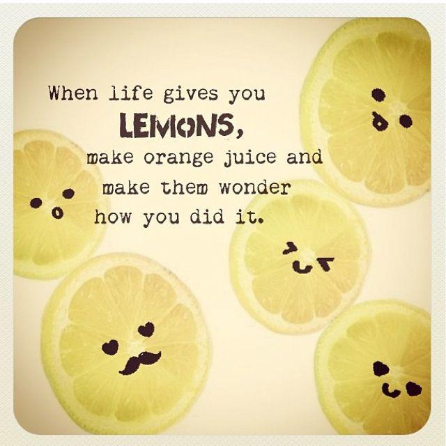 lemon quotes - Google Search