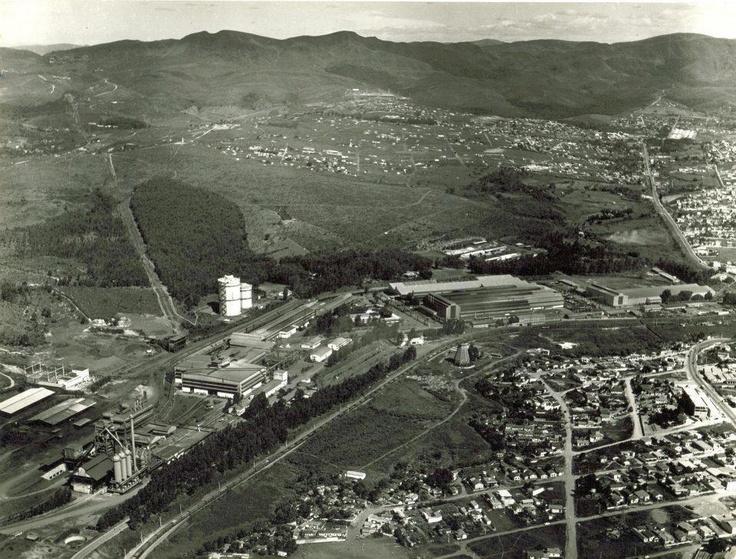 BH - Vista Aérea, Barreiro - final da década de 1950