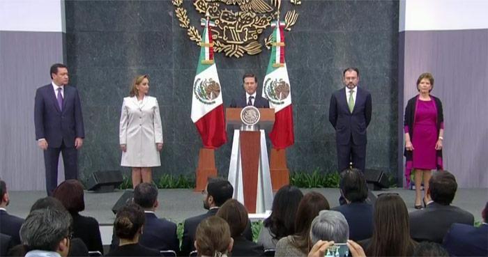 Mensaje de Enrique Peña Nieto derivado de las movilizaciones contra el gasolinazo