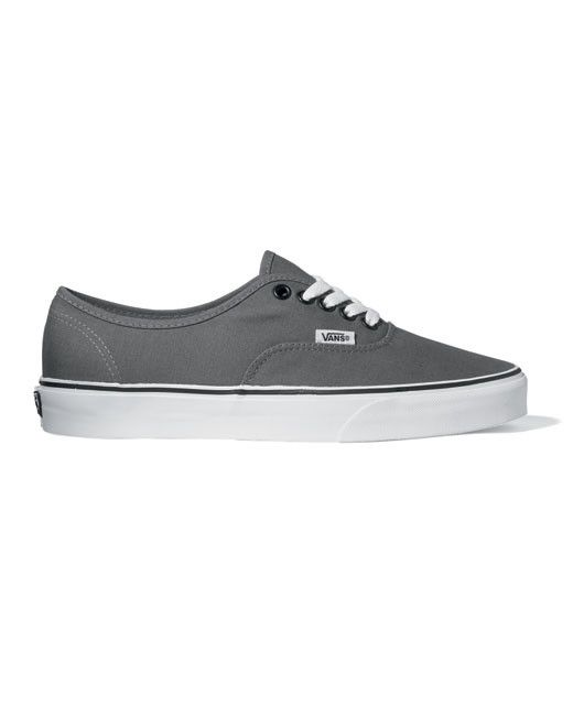 Vans Authentic Lace Up Size 13 14 15 Canvas Shoe (pewter black ... 739c7f601