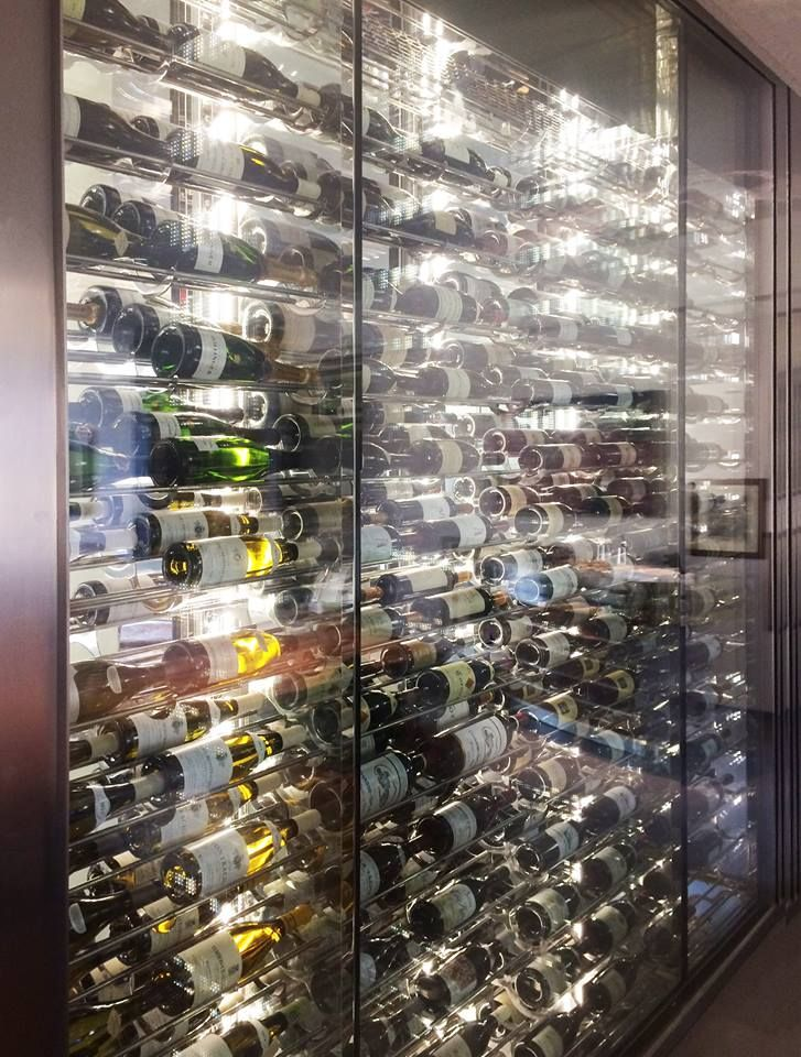 """For a Marvelous Home of Italians clients  """"Lauro Ghedini Designer"""" have designed an incredible Wine Cellar for Incredible Italian Wines"""