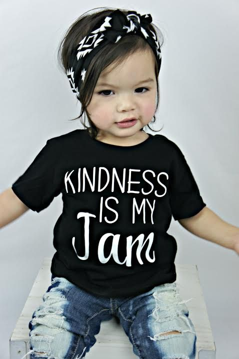 Kindness is my jam, toddler boy shirt, baby girl clothes, cute boy clothes, kids shirt, toddler tee, baby boy clothes, cute kids clothes