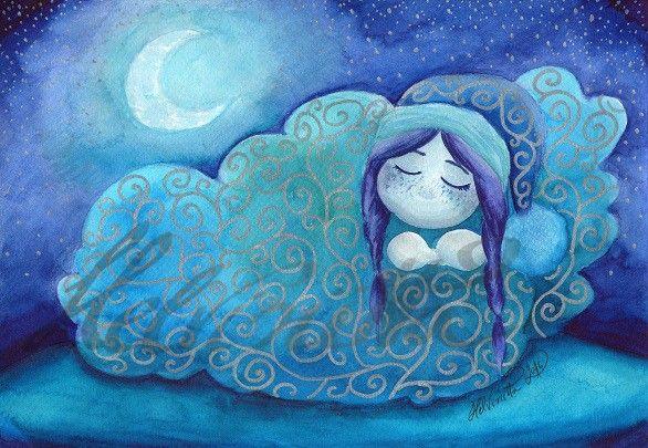 Dreaming Elf by Helviriitta.deviantart.com on @DeviantArt