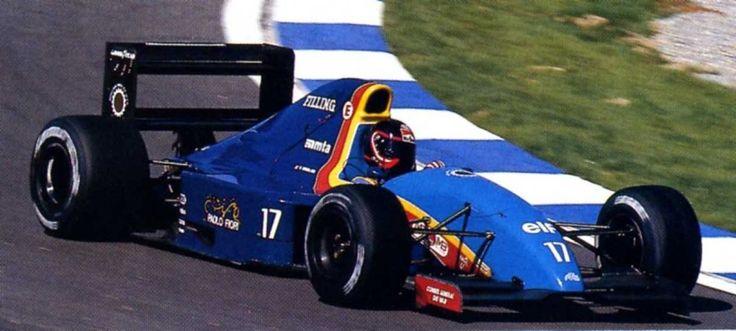Olivier Grouillard, Catalunya 1991, AGS JH27