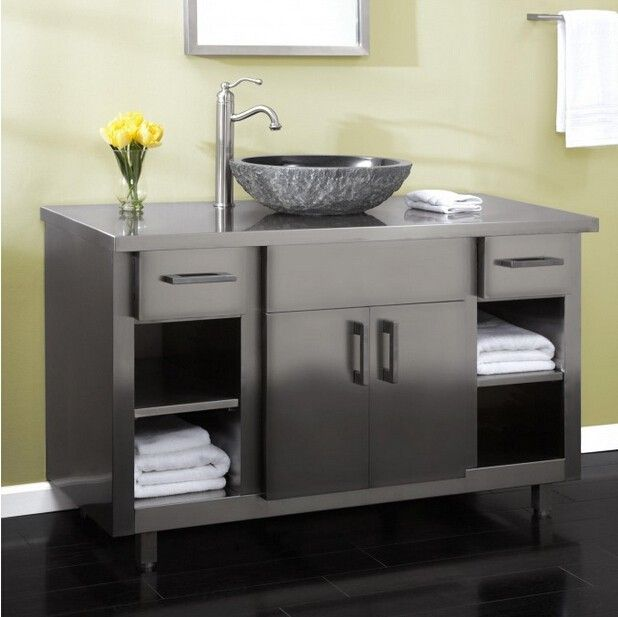 48 Bathroom Designs Modern Vanity Floor Mounted Luxury Stainless Steel Bathroom Cabinet Buy